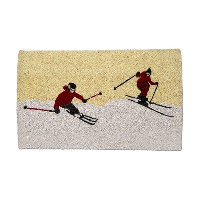 Winter Skiers Mat