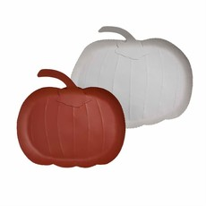Tin Pumpkin Trays