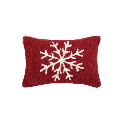 Snowflake Hook Pillow