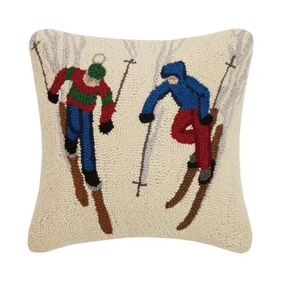 Ski Buddies Hook Pillow