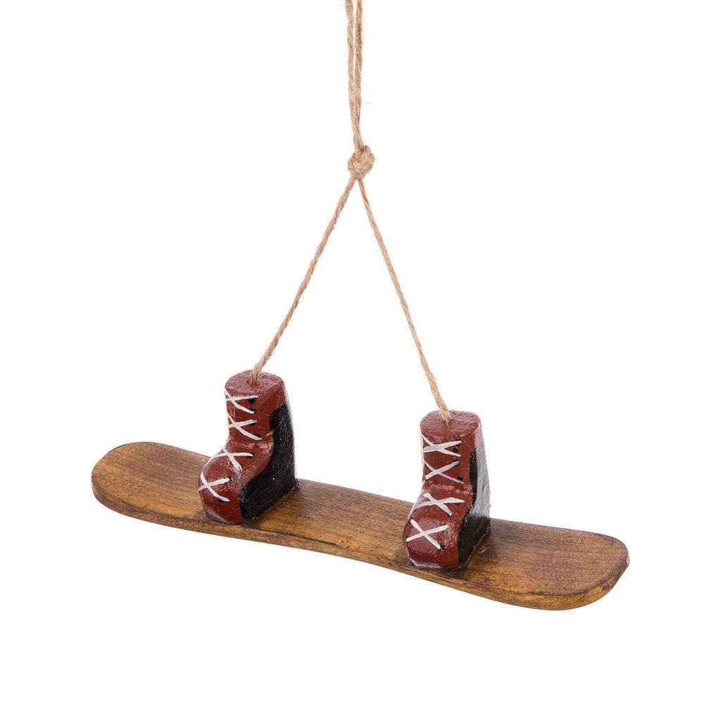 Snowboard & Boots Ornament