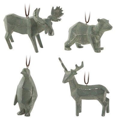 Origami Animal Ornaments