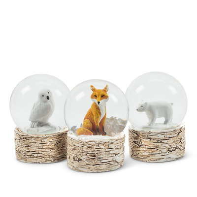 Mini Animal Snow Globes
