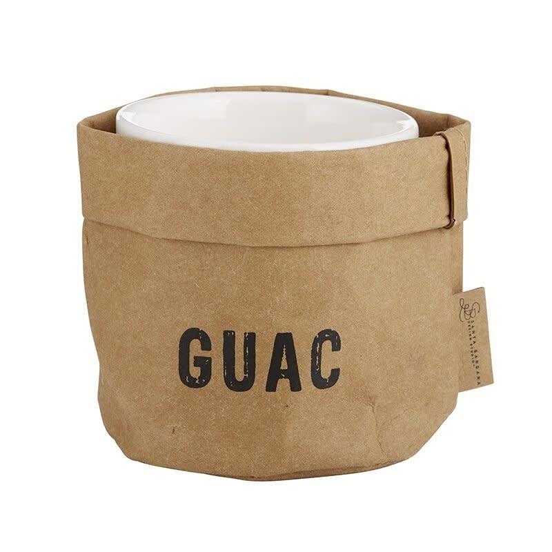 Guac Holder w/Ceramic Dish
