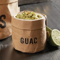 Guac Holder w/Ceramic Dish