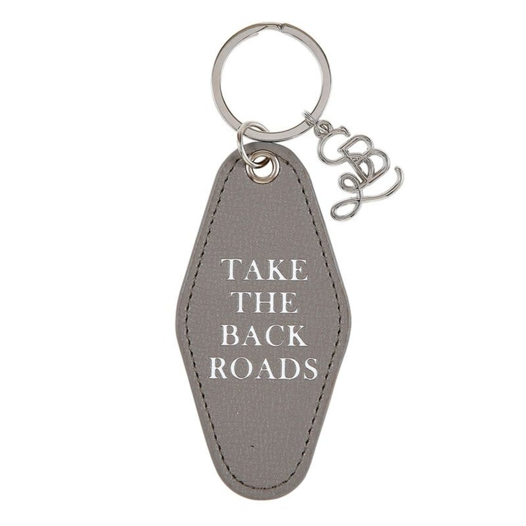 Back Roads Key Tag