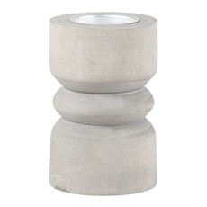 Grey Paulownia Tealight Holders