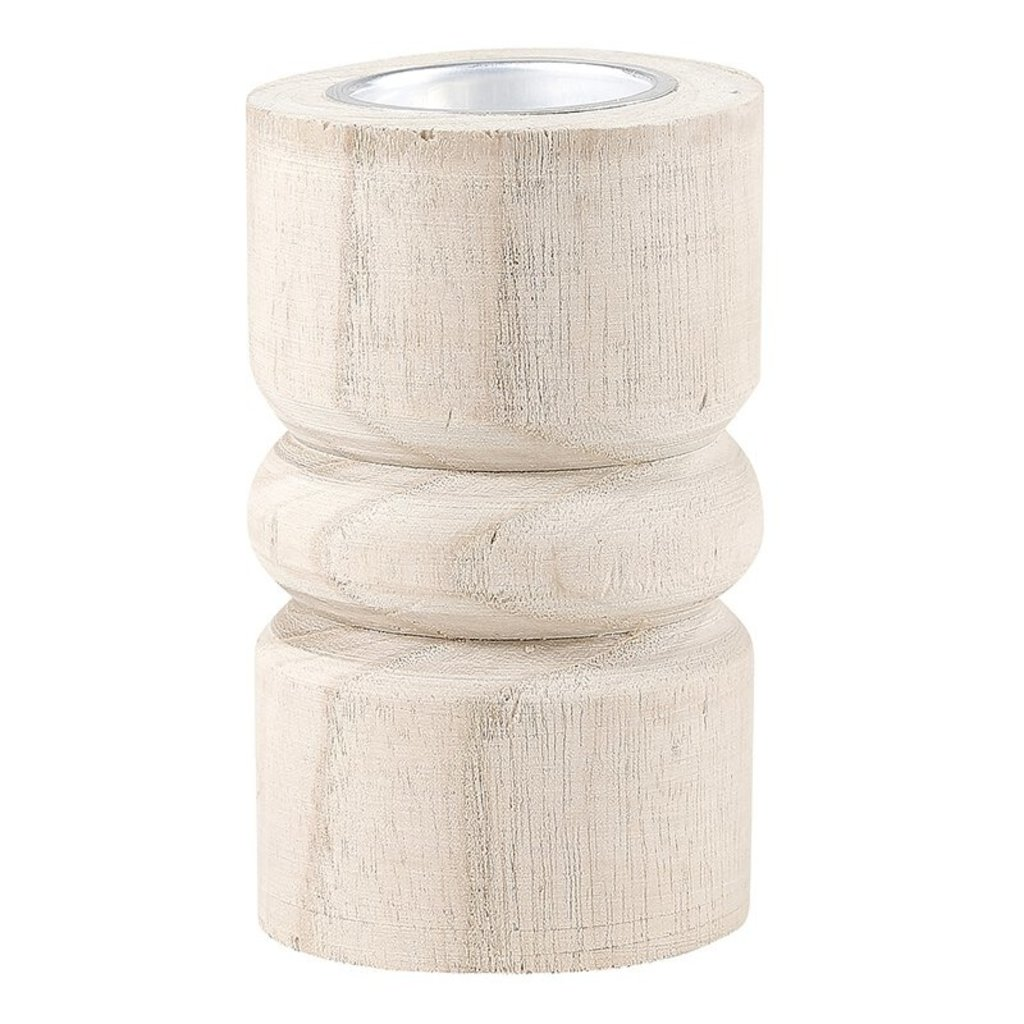 Natural Paulownia Tealight Holders