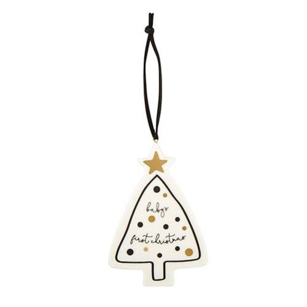 Baby First Christmas Tree Keepsake Ornament