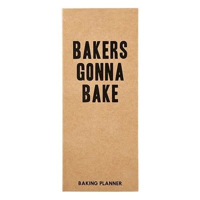 Baking Planner
