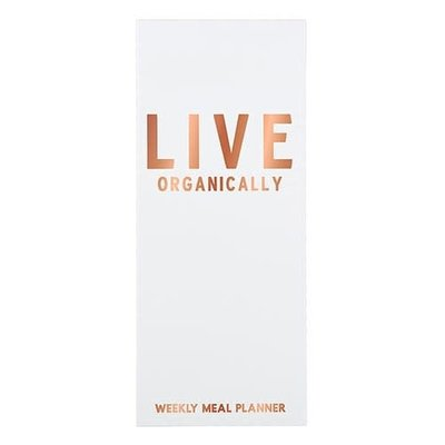 Live Organically Meal Planner