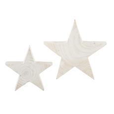 White Paulownia Stars
