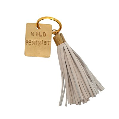 Wild Feminist Keychain