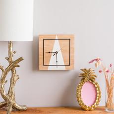 "10"" Square Mountain Clock"