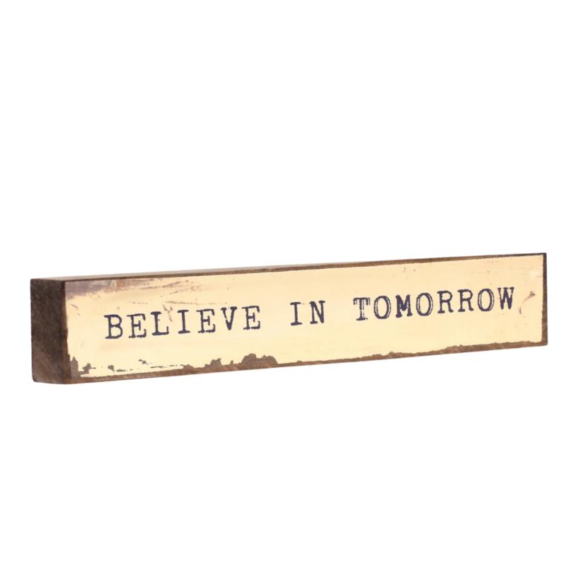 Believe in Tomorrow Timber Bit