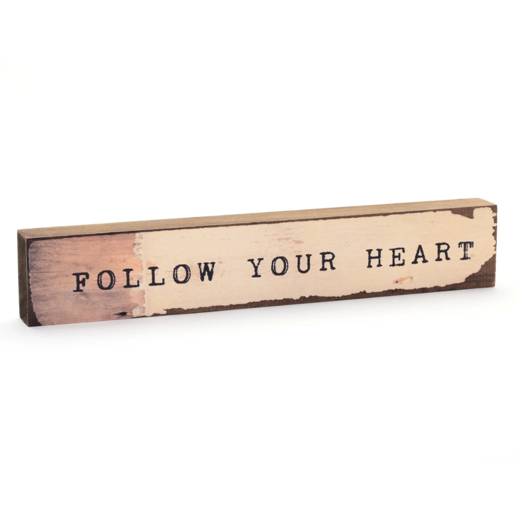 Follow Your Heart Timber Bit