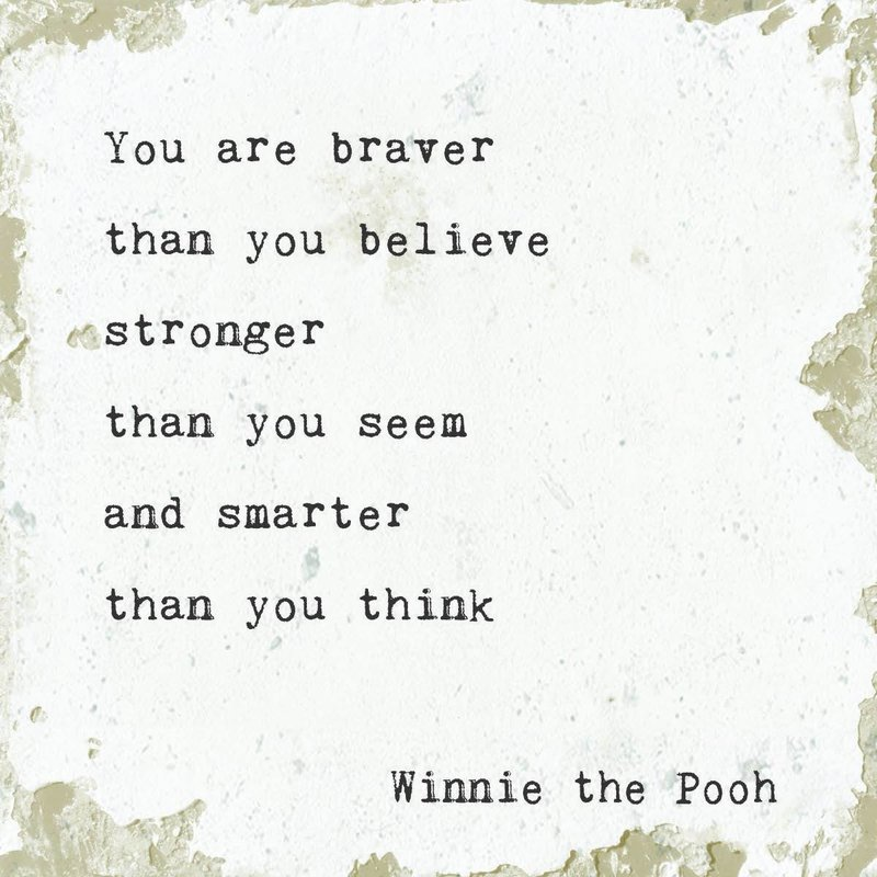 You are Braver Marble Coasters