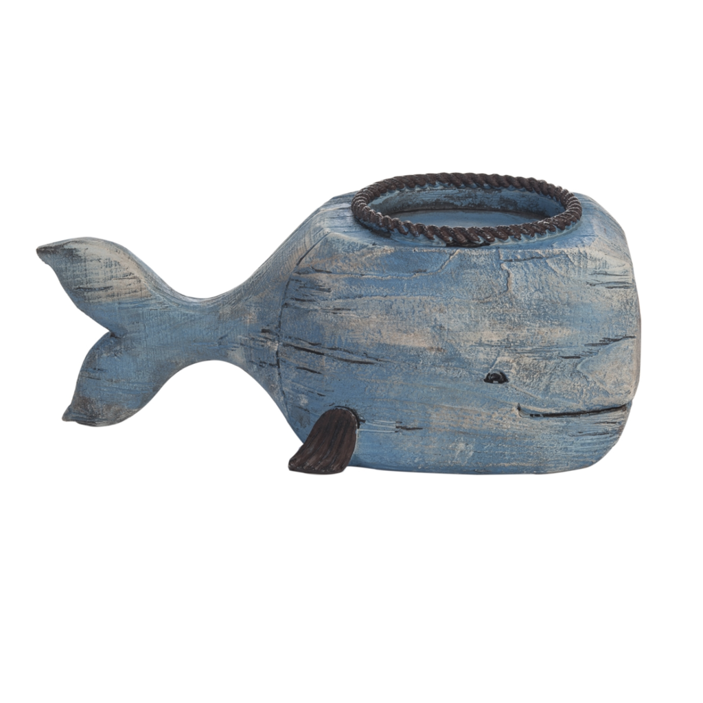 Single Whale Tealight Holder