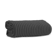 Charcoal Fleece Throw