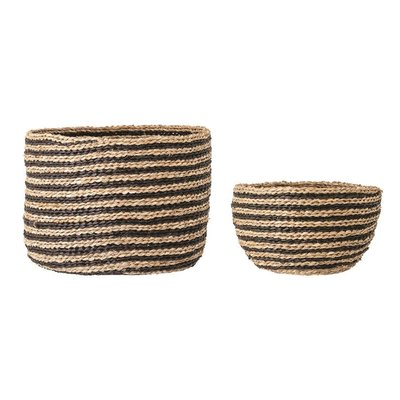 Hand-Woven Seagrass Baskets