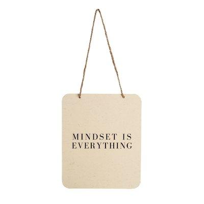 Mindset is Everything Tin Sign