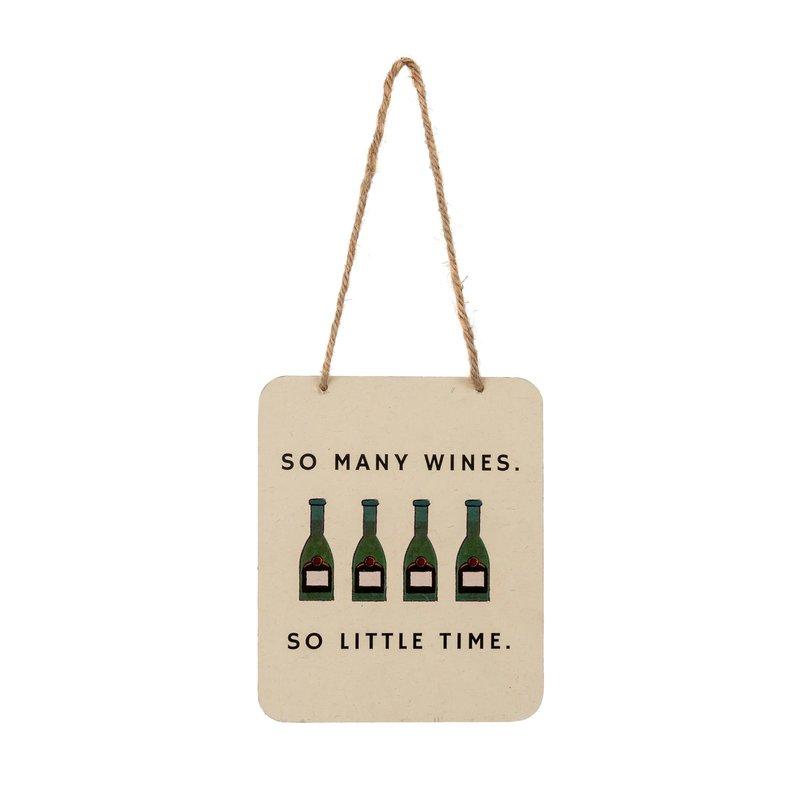 So Many Wines Tin Sign