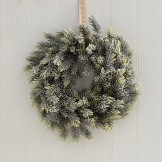 Soft Frosted Wreath