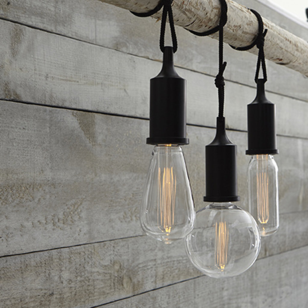 Round Edison Pendant Light