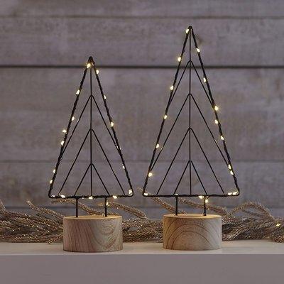 Linear LED Trees