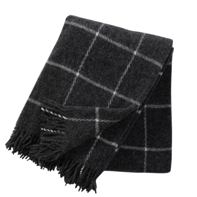 Dark Grey Vinga Throw