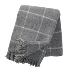 Light Grey Vinga Throw
