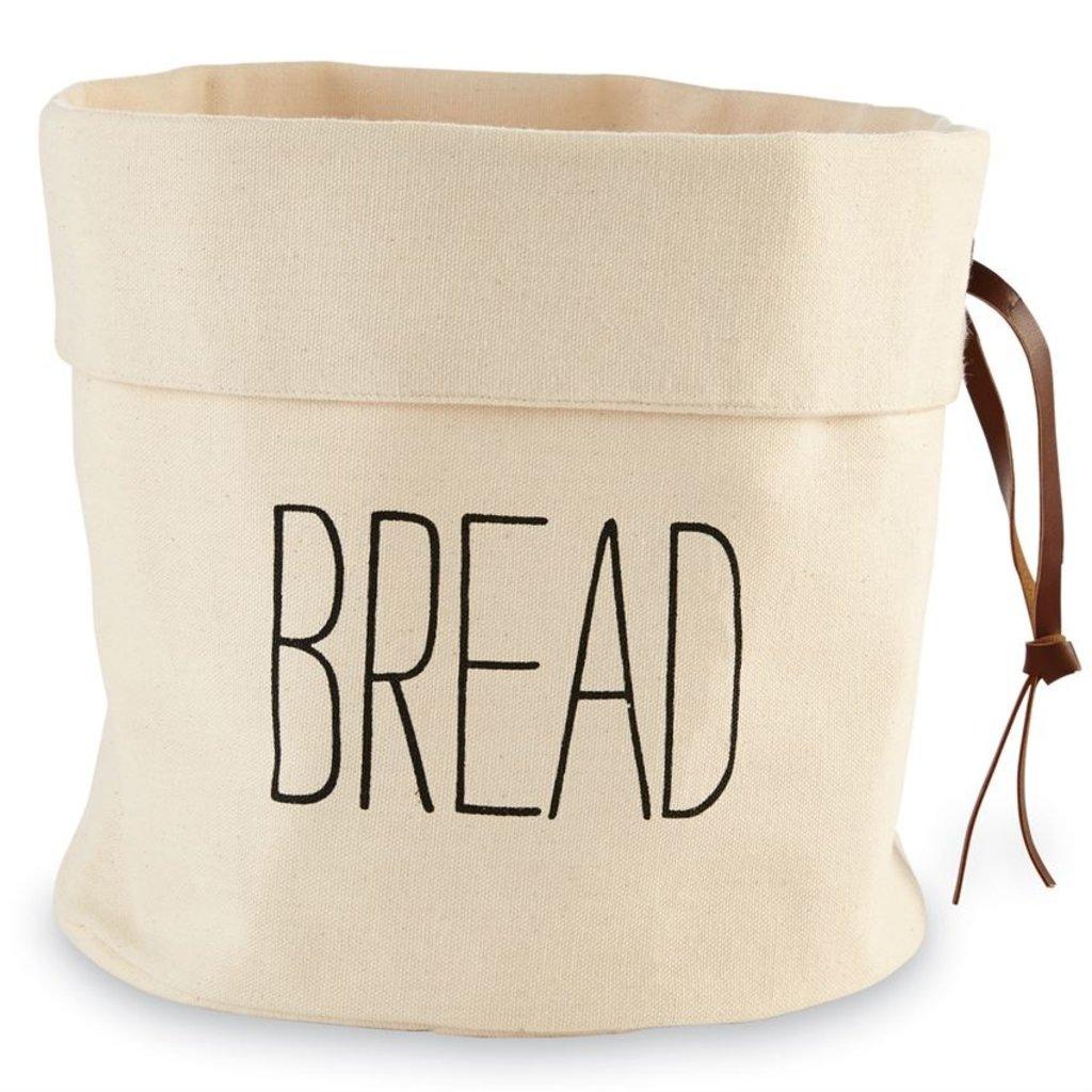 Canvas Bread & Baquette Holder Set