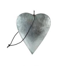 Aqua Shimmer Heart