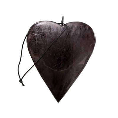 Graphite Shimmer Heart