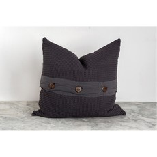 Charcoal Wave Pillow