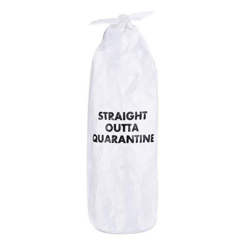 Quarantine Paper Wine Bag