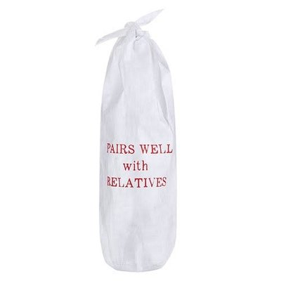Pairs Well Paper Wine Bag