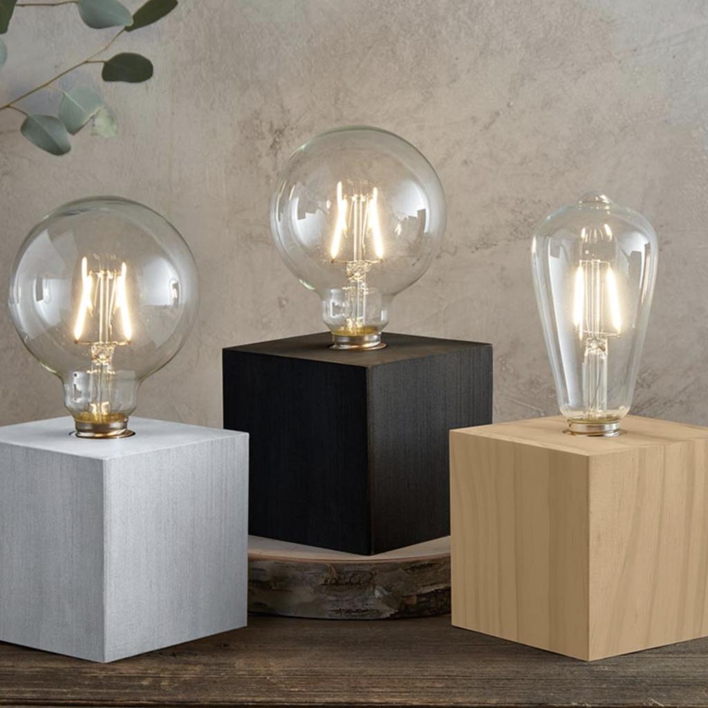 Charcoal Edison Lamp