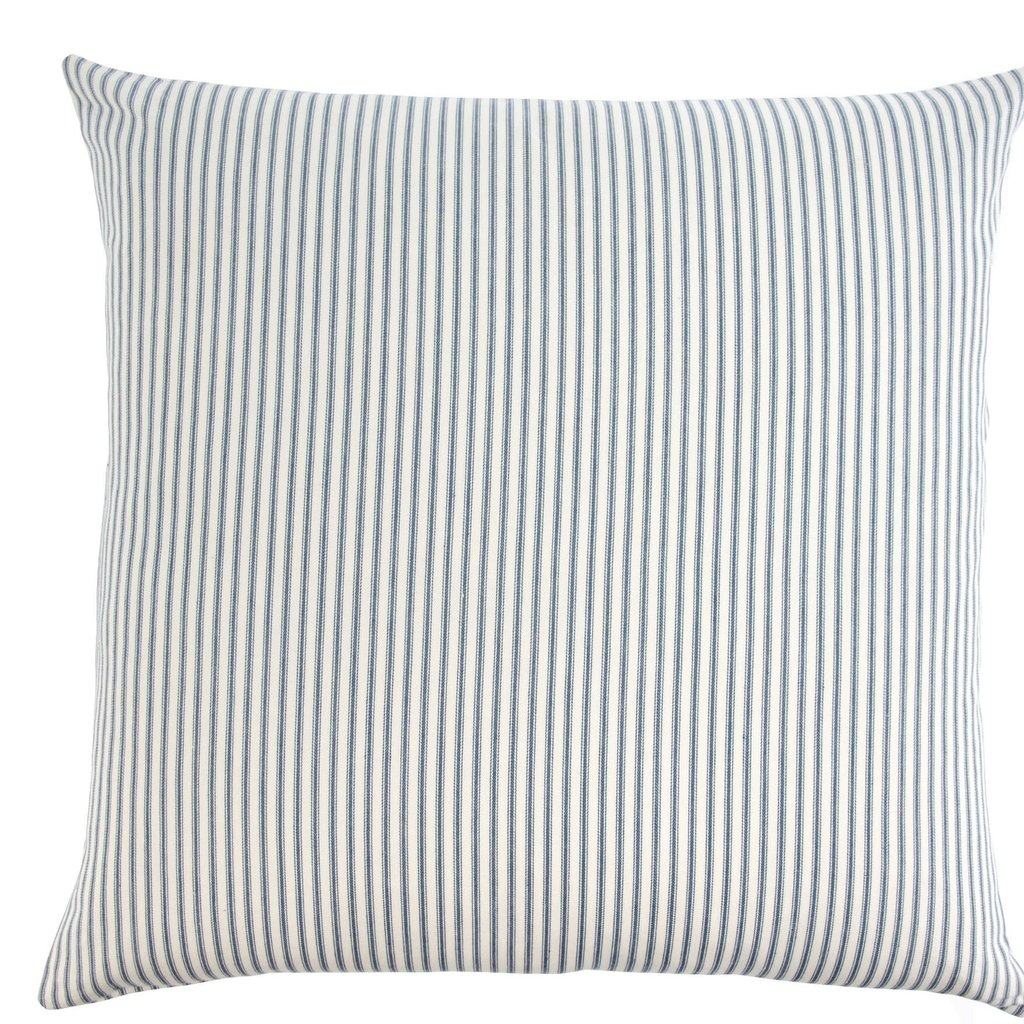 Navy Ticking Pillow