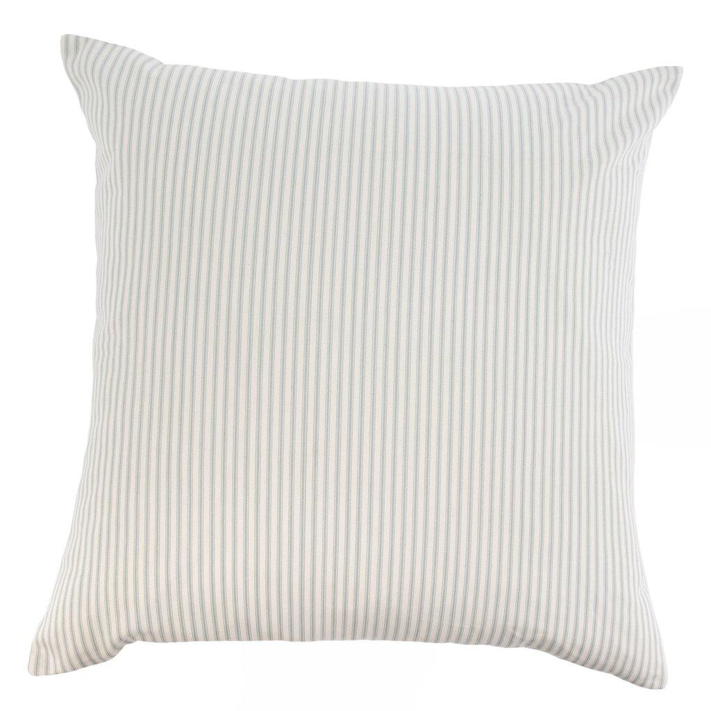 Grey Ticking Pillow