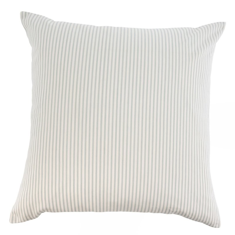 Grey Ticking Pillow