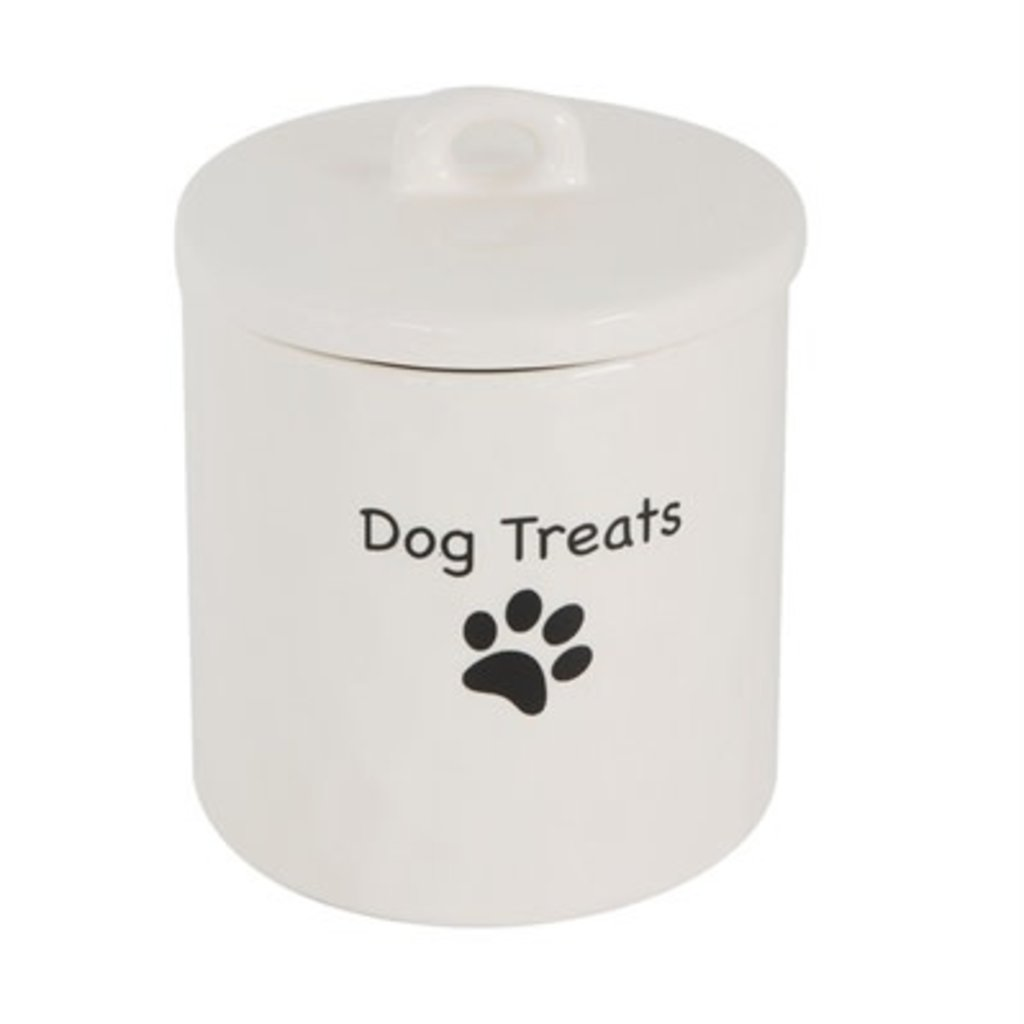Stoneware Treat Canister