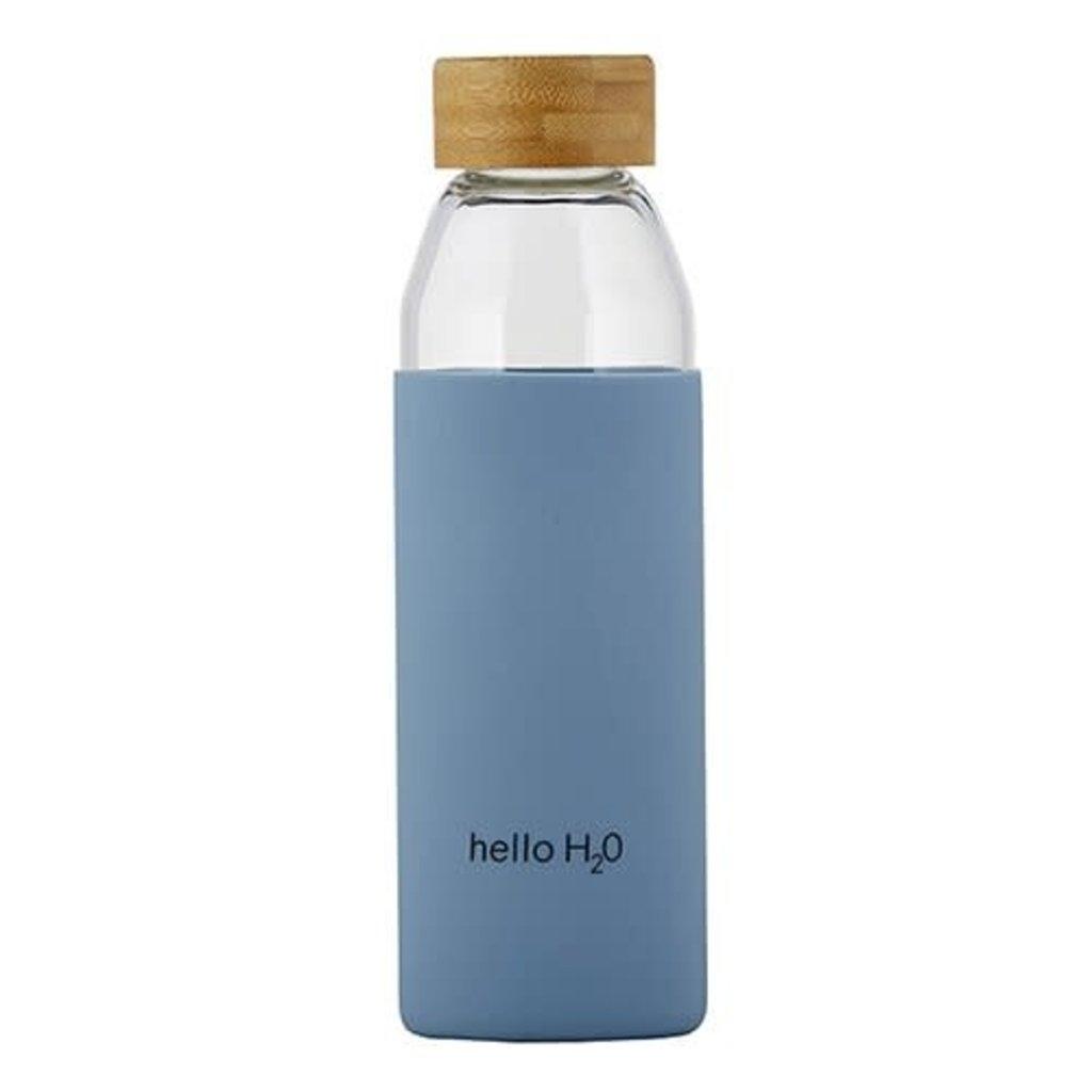 Hello Glass Water Bottle