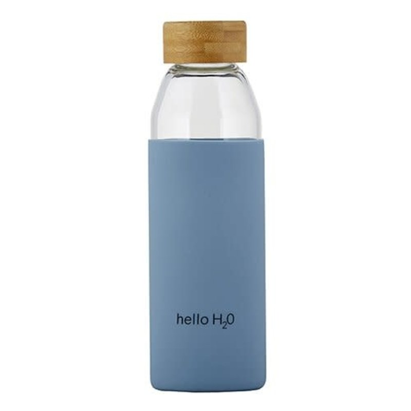Hello Glass Water Bottle