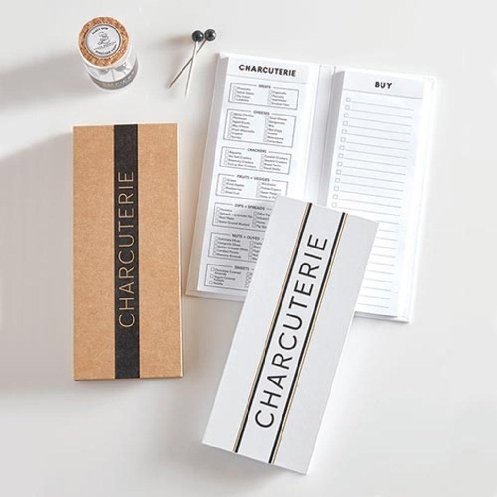 White Charcuterie List Pad