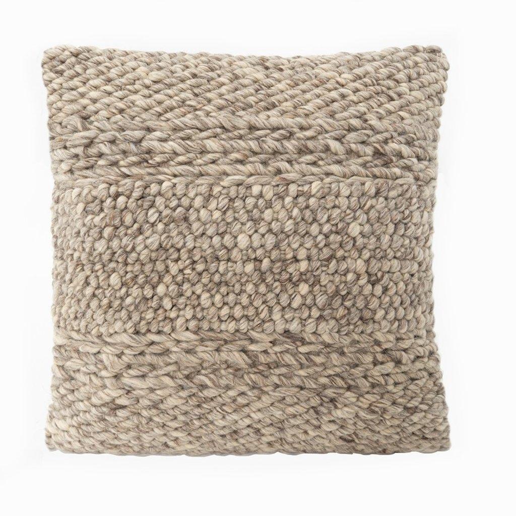 Handwoven Textured Pillow