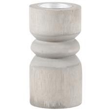 Grey Paulownia Tealight Holders