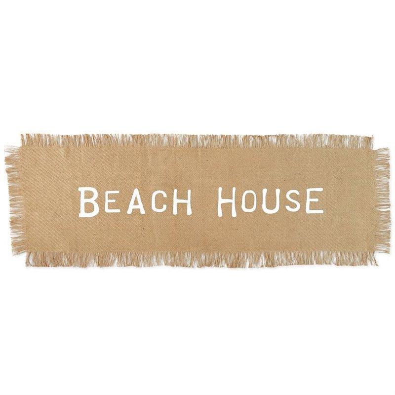 Jute Beach House Table Runner