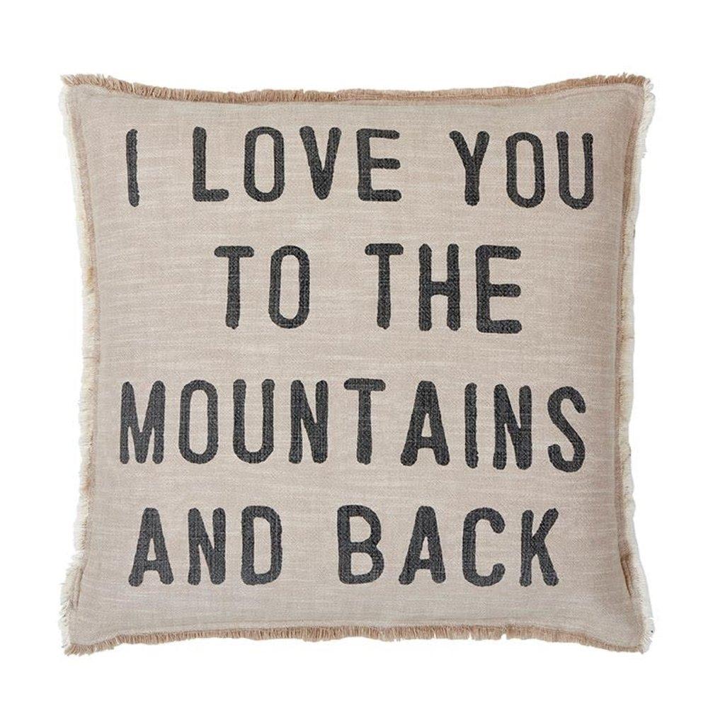 Mountains Euro Pillow