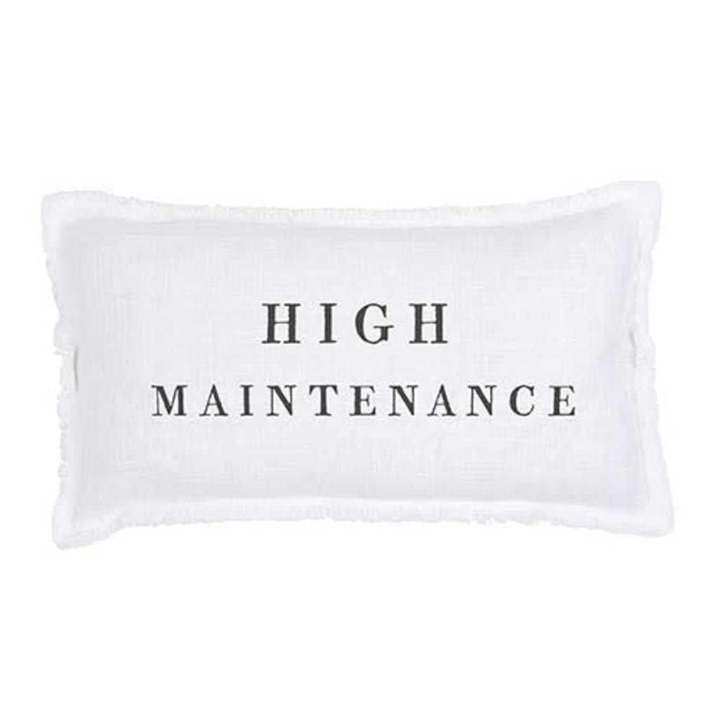 High Maintenance Lumbar Pillow